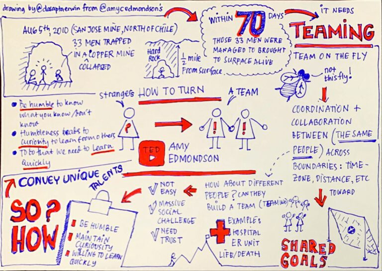 How to turn strangers into a team (Amy Edmondson Ted Talk)